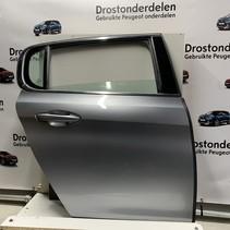Right rear door peugeot 308 T9 color ice blue (KCA)