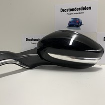 Buitenspiegels links -voor peugeot 208  allure model kleur zwart (ktv) Inklapbaar