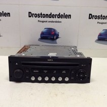 RADIO/CD/MP3 SPELER 96633422XT PEUGEOT 207 SIEMENS VDO