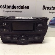 Air conditioning display 96430550XT PEUGEOT 206 (6451ZJ) (6451KN)