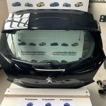 Tailgate Peugeot 208 with spoiler Color color black