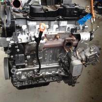 Motor peugeot  diesel (turbo) 1.6 Bleu hdi 100 met motorcode BH02 BHY