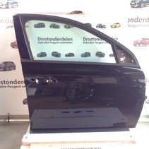 Rechte Vordertür Peugeot 308 T9 Farbe schwarz Farbcode KTV (1610102180)