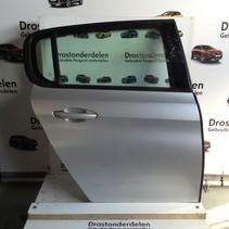 Right rear door 9802165580 Peugeot 308 T9 color gray (EZR)