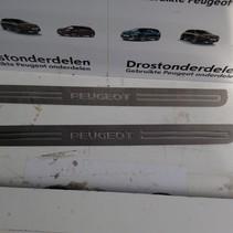 Instaplijsten set 9680532480 Peugeot 207