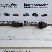 Aandrijfas Rechts 9684135480 Peugeot 3008 Diesel
