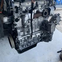 Engine BHZ DV6FC Peugeot 308 1.6 HDI engine code BH01