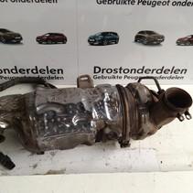 Katalysator+Roetfilter K642 9803421880 Peugeot 207 1.6 HDI (Motorcode 9HP)