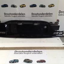 Onderstuk achterklep  peugeot 206cc cabriolet  kleur zwart exl