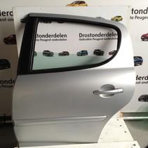 Portier 4Deurs links-achter van een Peugeot 207  kleur grijs (EZRC)
