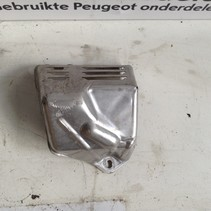 Turbo compressor heat shield from a Peugeot 9807054980