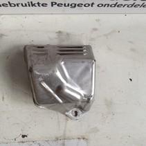 Turbo Compressor Hitteschild van een Peugeot 9807054980
