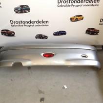 Rear bumper peugeot 206cc color code EZR gray