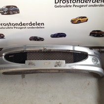 Front bumper Peugeot 206cc convertible has signs of wear and scratches, color code EZR gray