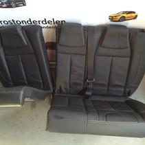 Full Black Leather Backseat Peugeot 2008