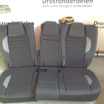 Backseat Half leather Peugeot 2008