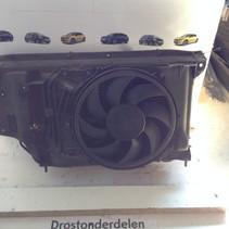 komplettes Kühlerpaket für Front Peugeot 206 1.6 16V