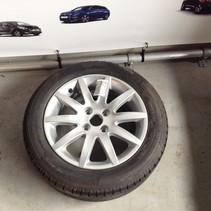 Reserve Wiel met Lichtmetaal Velg 9680713680 205/55R16 Peugeot