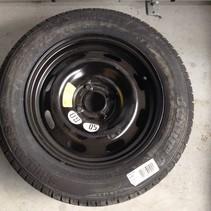 Spare wheel 185 / 65R15 Peugeot