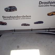 Roof molding Left 96783576VV / 96783575VV Peugeot 2008 Silver