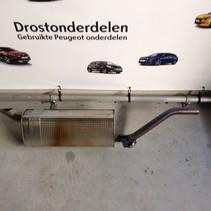 Exhaust silencer pot 9818337780 peugeot 2008 PSA 4399 130 hp