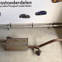 Exhaust silencer pot 9818336980 PSA 4357 peugeot 208 82hp