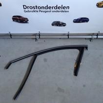 Chromverkleidung vorne links Tür Peugeot 208 9673931780/9810970480