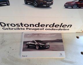 Instructieboekje Peugeot RCZ