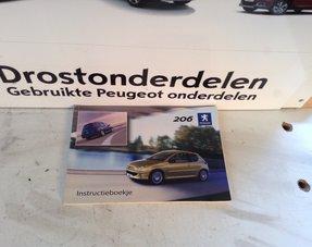 Instruction booklet Peugeot 206