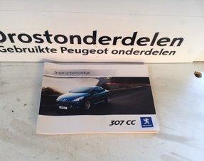 Instruction booklet Peugeot 307CC