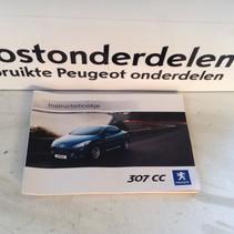 Instructieboekje Peugeot 307CC Nederlandstalig