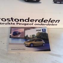 Instruction booklet Peugeot 206 Dutch