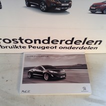 Instruction booklet Peugeot RCZ in French