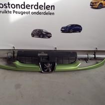 Grille Front Bumper Peugeot 206CC Cabriolet Apple Green Metallic