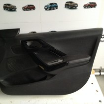 Door panel / Door trim Right 96763527ZD Peugeot 2008 With White Stitching