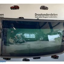 Rear window of a Peugeot 207cc 8345C9 color black