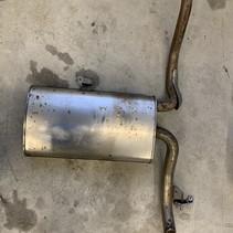 Exhaust pot 9820641480 PSA 3442 Peugeot 3008 P84