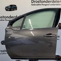 Door 4-door left -for Peugeot 2008 Color code EVL