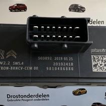 Seat heating bitron modules peugeot 3008II 9810486880