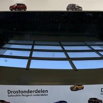 Front sunroof glass plate peugeot 3008 II (1618179380)