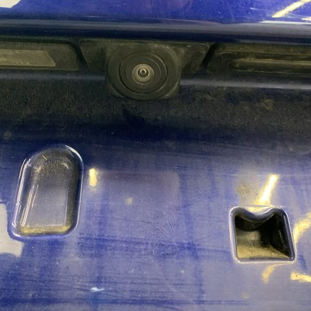 Tailgate peugeot 308 T9 GTI color code EEC blue with camera 9677892380