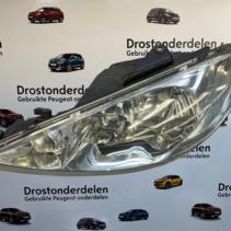 Headlight left Peugeot 206cc cabrio 9628666880