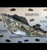 Headlight right peugeot 206cc cabrio 9628666780