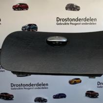 Dashboardkastje Zwart Leer 96505445ZR Peugeot 206CC