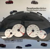 Kilometerteller 9656696380 Peugeot 206 1.4 16V