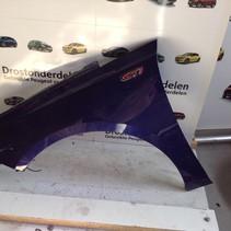 Scherm Links-Voor  9802164380 Peugeot 308 II T9  Kleurcode EEG Blauw