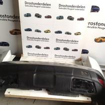 Achterbumper Peugeot 3008 II GT-Line Parelmoer Wit Kleurcode KWED Wit