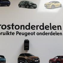 Dakschakelaar Cabrio Peugeot 207CC