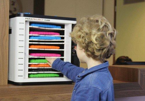 "Parat charge & sync U10 Cube voor 10 iPads en tablets 9-11"""