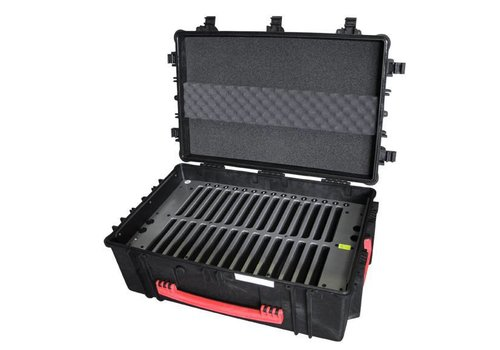"Parotec-IT charge & sync C14 case for 30 iPads and 9""-10"" tablets with and without slimline protective cover"